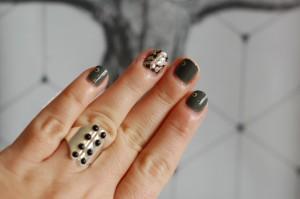 nail art kaki 1