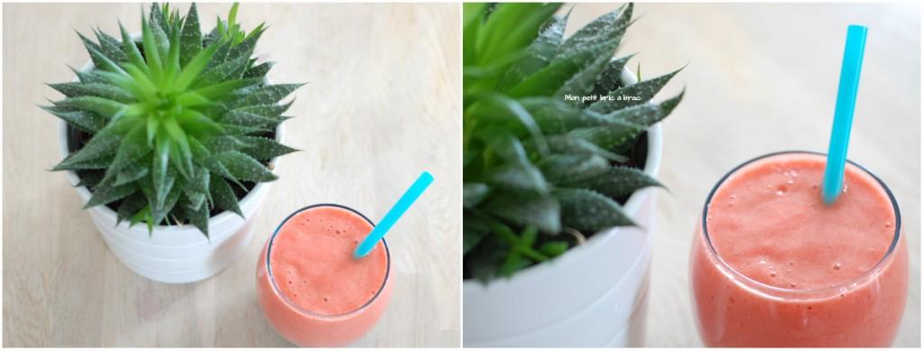 smoothie fraise ananas