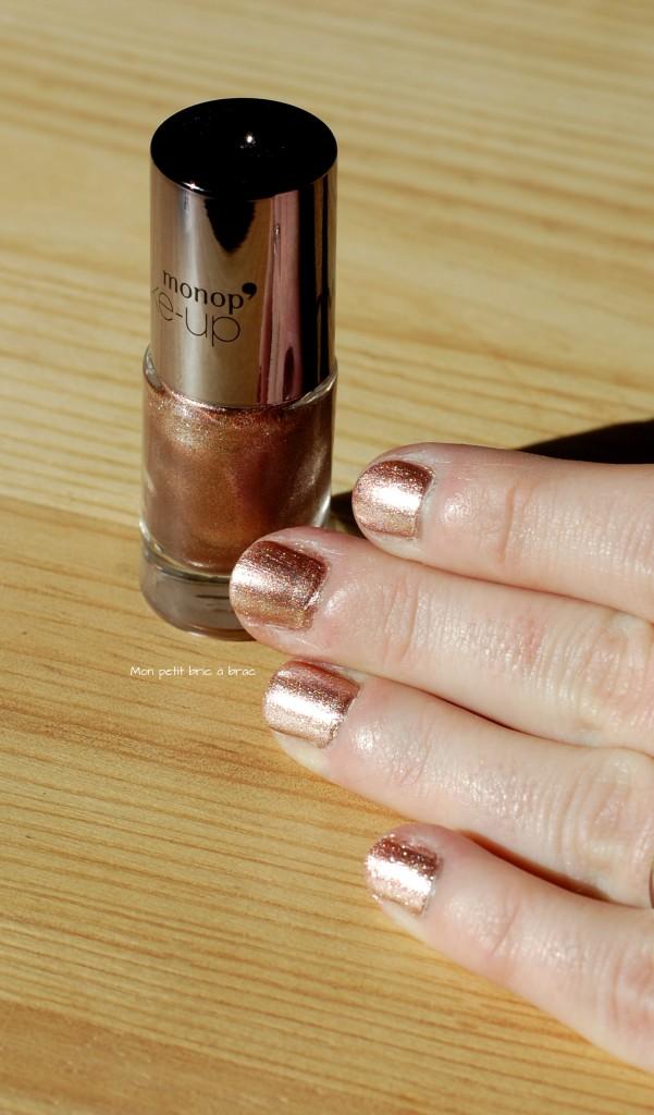 vernis à ongle Bronze Monoprix 2