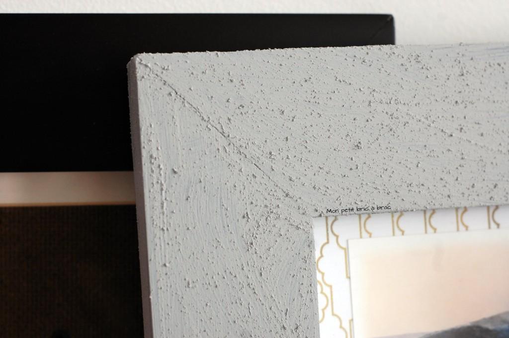 DIY Cadre effet beton 4