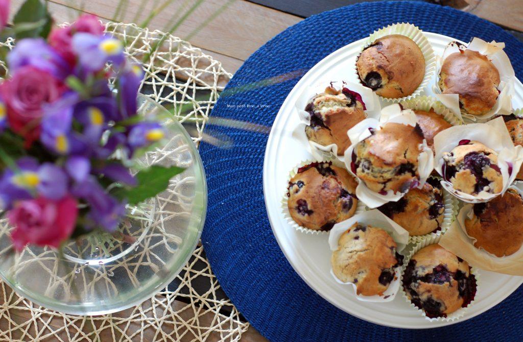 Des Muffins Myrtilles comme petite douceur 2