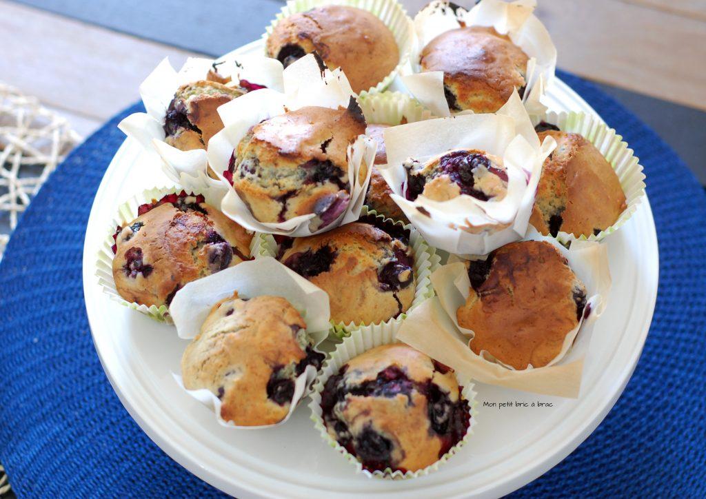 Des Muffins Myrtilles comme petite douceur 3