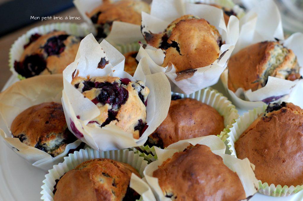 Des Muffins Myrtilles comme petite douceur 4