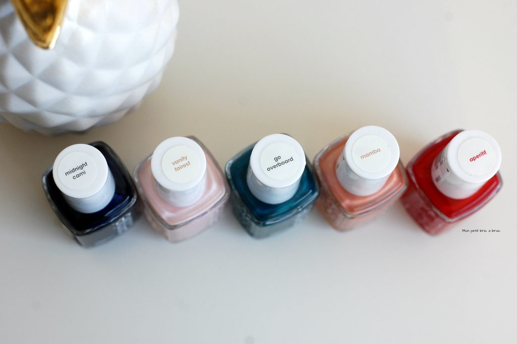 HAUL ESSIE 3In love with Essie, Maxi Haul de novembre